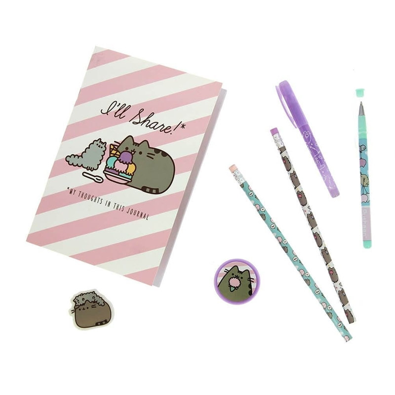 Pusheen super stationary set