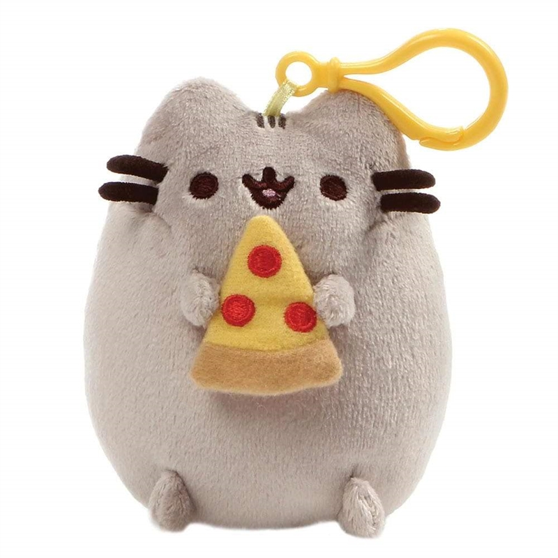 Pusheen hänge med pizza
