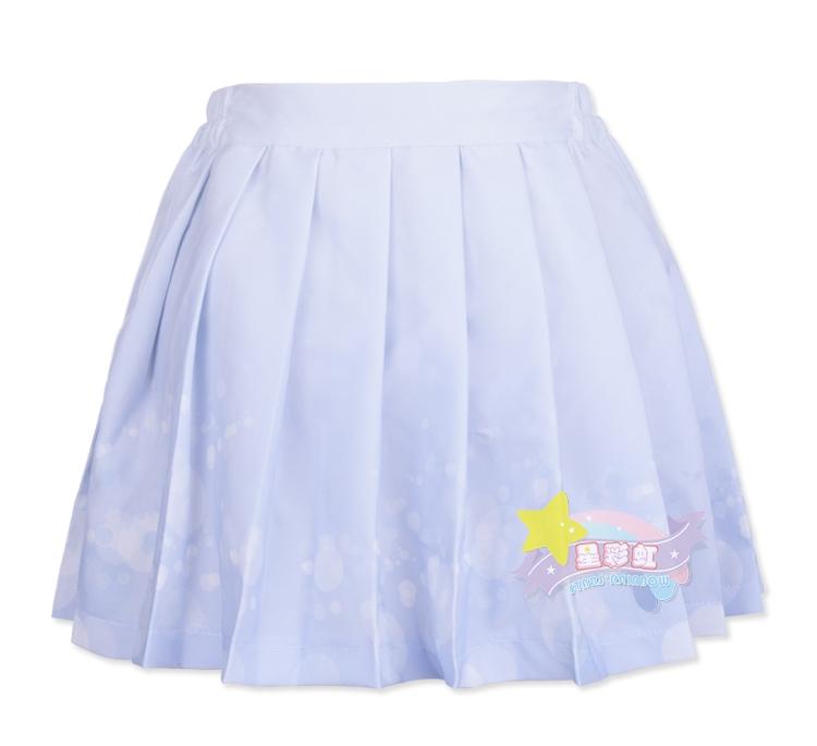 Ljusblå bubbles sailor-kjol 098d505ddd86f