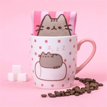 Pusheen Sock in a mug - Marshmallow