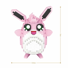 DIY-kit mini-lego - Wigglytuff