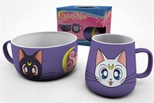 Sailor Moon Frukost-set - Luna & Artemis