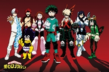 Poster - My Hero Academia, Line Up