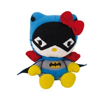 Hello Kitty superheroes Batman plushie 17cm